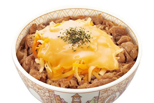 丼 元 牛 ネタ チーズ